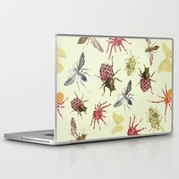 insects Laptop & iPad Skins featuring Insects by Christopher Bennett