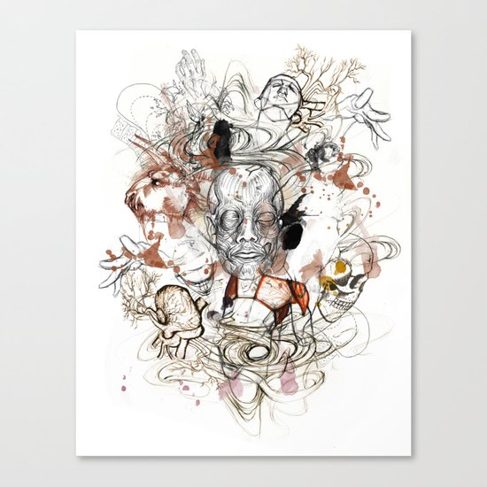 Theseus Canvas Print
