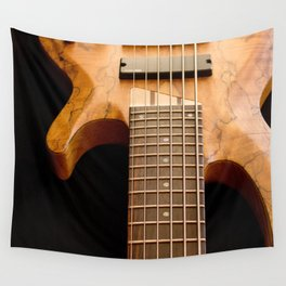 Music is a Moral Law ~ Bass Guitar Wall Tapestry