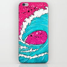The Sea's Wave iPhone & iPod Skin