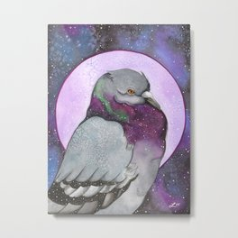 Pigeons Aren't Gross Metal Print