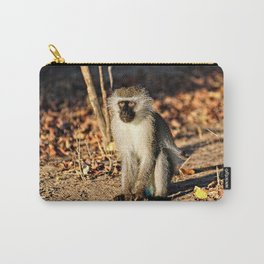 Cute Vervet Monkey in the Wilde Carry-All Pouch