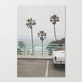 Cruisin Manhattan Beach Canvas Print