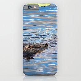 Summer Alligator iPhone Case