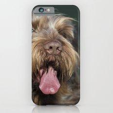 Brown Roan Italian Spinone Dog Head Shot iPhone 6s Slim Case