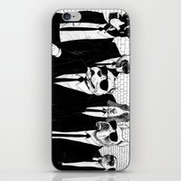 reservoir dogs iPhone & iPod Skins featuring Reservoir Dogs by Vitrugo