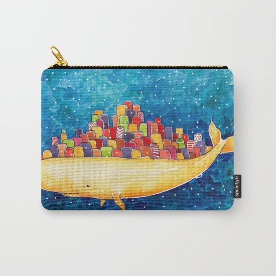 Snow Whale Carry-All Pouch
