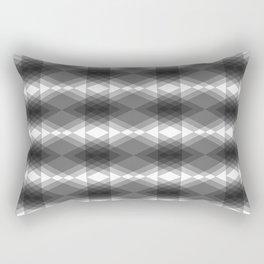 Triangles Merging Rectangular Pillow