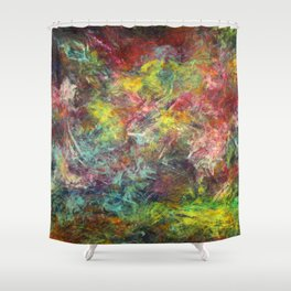Bio Hacker Shower Curtain