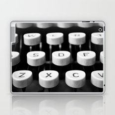 Vintage typewriter 3 Laptop & iPad Skin