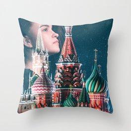 Dream of Kremlin Throw Pillow