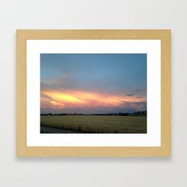 Rural Warmth Framed Art Print