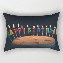 happy birthday 4 Rectangular Pillow