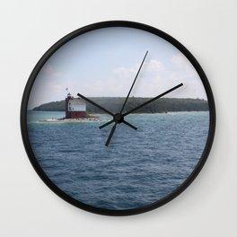 Light Ahead Wall Clock