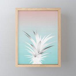 ananas comosus Framed Mini Art Print