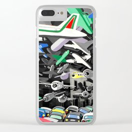 Osservatorio federiciano Clear iPhone Case