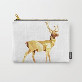 Low Poly Deer Carry-All Pouch
