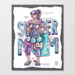 Super Moms, Unite! Canvas Print