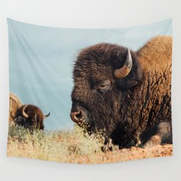 American Bison II Wall Tapestry