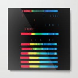 Spectroanalysis Metal Print