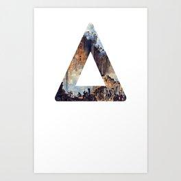 Bastille (light) Art Print
