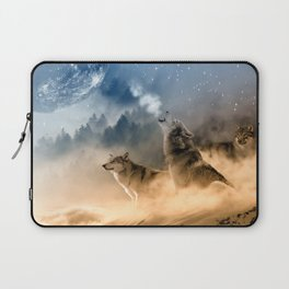 Moonrise Howl Laptop Sleeve