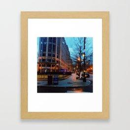 9th Street Blues Framed Art Print