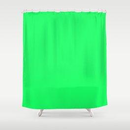 Lanai Lime Green - Acid Green Shower Curtain