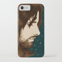 aragorn iPhone & iPod Cases featuring Aragorn by cos-tam