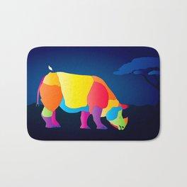 Paper Craft Rhino Bath Mat