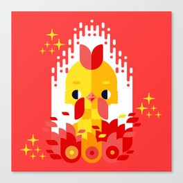 Year of the Rooster Canvas Print