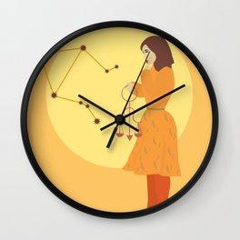 Libra Constellation Wall Clock