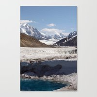 alaska Canvas Prints featuring Alaska by L McLeod