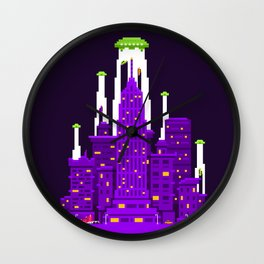 Alien Invasion Wall Clock