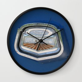 Vintage FORD Truck Badge Wall Clock