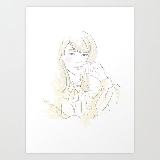 Françoise Hardy Art Print