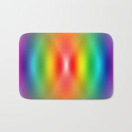 Rainbow confusion  Bath Mat