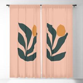 Flower Blackout Curtain