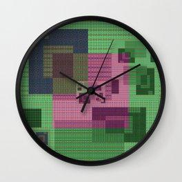 Floppy Disc High Def Fantasy Geometry Wall Clock