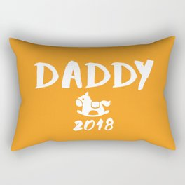Daddy 2018 - New Father Rectangular Pillow