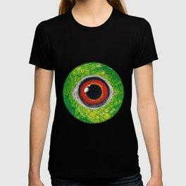 Amazon parrot eye T-shirt