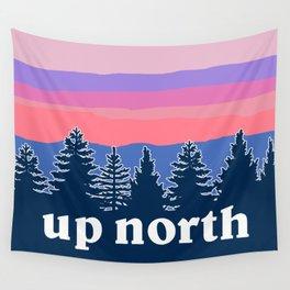 up north, pink hues Wall Tapestry