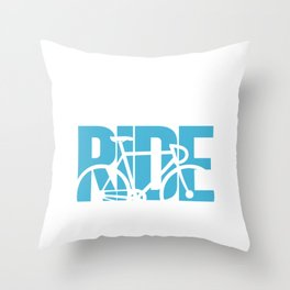 You Lost Me at I Don't Ride Funny Graphic T-shirt Throw Pillow