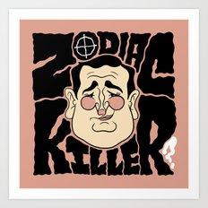 Zodiac Ted Art Print