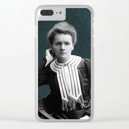 Young Marie Curie, 1903 Clear iPhone Case