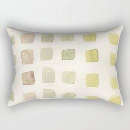 Green Tiles Rectangular Pillow