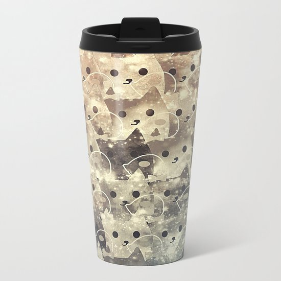 cats-143 Metal Travel Mug