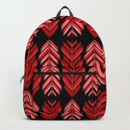 Red feathers Backpack