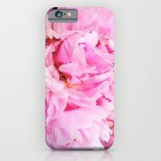 Pretty Pink Peony Slim Case iPhone 6s