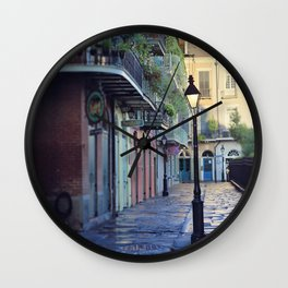 New Orleans - Dawns Early Light Wall Clock